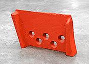 铲刀刃,磨粉机配件